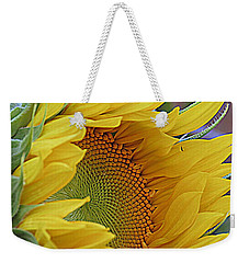 Sunflower Awakening Weekender Tote Bag by Kay Novy