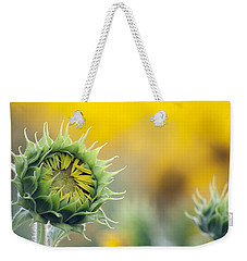 Sunflower Bloom Weekender Tote Bag