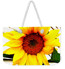 Sunflower Blossom  Weekender Tote Bag by Naomi Burgess