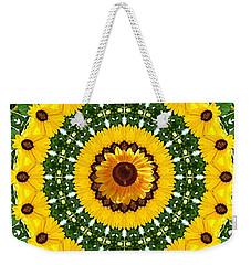 Sunflower Centerpiece Weekender Tote Bag