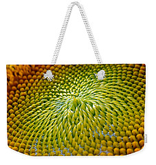 Sunflower  Weekender Tote Bag by Christina Rollo