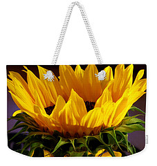 Sunflower Crown Weekender Tote Bag