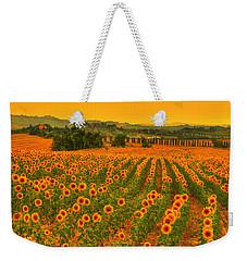 Sunflower Dream Weekender Tote Bag