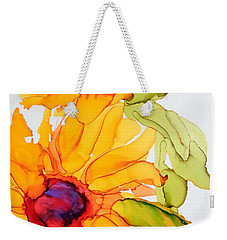 Sunflower Duo Weekender Tote Bag