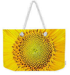 Sunflower  Weekender Tote Bag by Edward Fielding