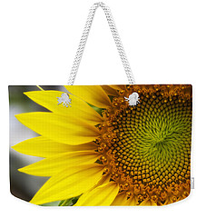 Sunflower Face Weekender Tote Bag