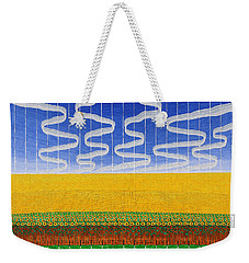 Sunflower Fields Weekender Tote Bag