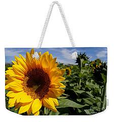 Sunflower Glow Weekender Tote Bag