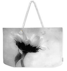 Weekender Tote Bag featuring the photograph Sunflower In Profile by Louise Kumpf