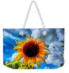 Sunflower Inspiration Weekender Tote Bag