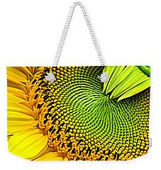 Sunflower Kaleidescope Weekender Tote Bag