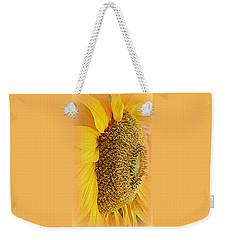 Sunflower Weekender Tote Bag by Kay Novy