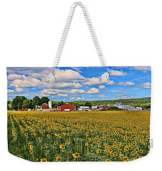 Sunflower Nirvana 17 Weekender Tote Bag