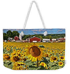 Sunflower Nirvana 21 Weekender Tote Bag
