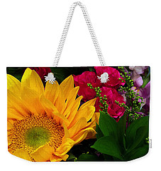 Sunflower Reflections Weekender Tote Bag