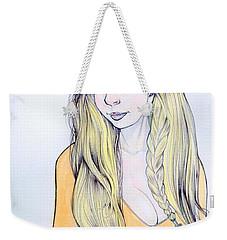 Sunflower Sara Weekender Tote Bag by Jimmy Adams