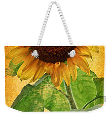 Sunny Sunflower Wall Art Weekender Tote Bag