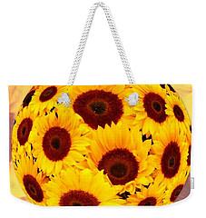 Sunflower Sunshine Weekender Tote Bag