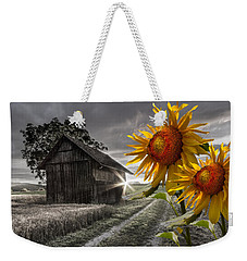 Sunflower Watch Weekender Tote Bag