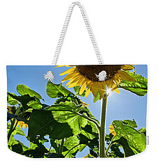 Sunflower With Sun Weekender Tote Bag
