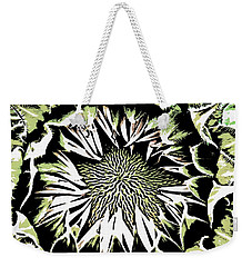 Weekender Tote Bag featuring the digital art Sunflower1 by Dragica  Micki Fortuna