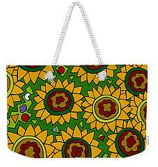 Sunflowers 2 Weekender Tote Bag by Rojax Art