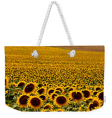 Sunflowers And Airports Weekender Tote Bag