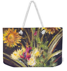 Sunflowers For Sunday Weekender Tote Bag