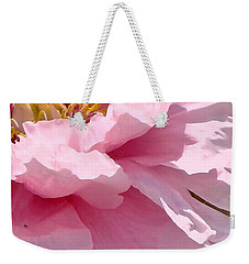 Weekender Tote Bag featuring the photograph Sunkissed Peonies 1 by Cindy Greenstein
