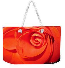 Sunkissed Orange Rose 9 Weekender Tote Bag