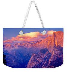 Sunlight Falling On A Mountain, Half Weekender Tote Bag