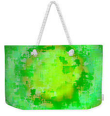 Original Abstract Art Painting Sunlight In The Trees  Weekender Tote Bag