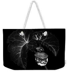 Sunlit Begonia Weekender Tote Bag