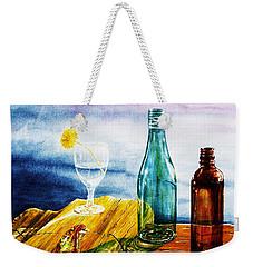 Sunlit Bottles Weekender Tote Bag