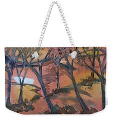 Sunlit Forest Weekender Tote Bag