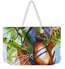 Sunlit Palm Weekender Tote Bag by Carlin Blahnik