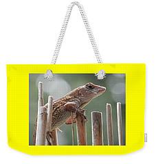 Sunning Lizard Weekender Tote Bag