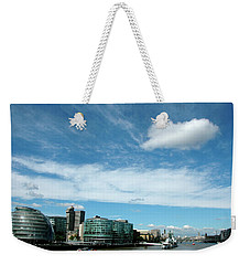 Weekender Tote Bag featuring the photograph Sunny Day London by Jonah  Anderson