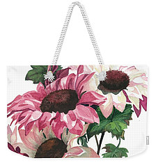 Weekender Tote Bag featuring the painting Sunny Delight by Barbara Jewell