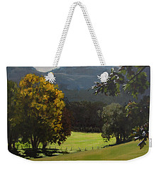 Sunny Fall Day Weekender Tote Bag