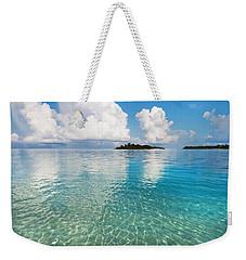 Sunny Invitation For  You. Maldives Weekender Tote Bag