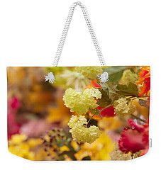 Sunny Mood. Amsterdam Flower Market Weekender Tote Bag by Jenny Rainbow