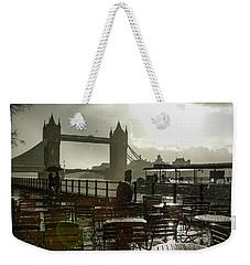 Sunny Rainstorm In London England Weekender Tote Bag