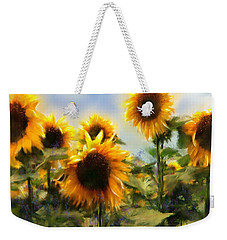 Sunny-side Up Weekender Tote Bag by Colleen Taylor