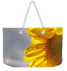 Sunny Sunflower Weekender Tote Bag by Cheryl Baxter