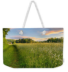 Sunny Valley Sunrise Weekender Tote Bag