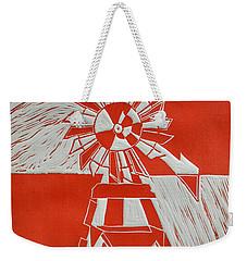 Sunny Windmill Weekender Tote Bag by Verana Stark