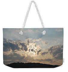 Weekender Tote Bag featuring the photograph Sunrise 1 by George Katechis