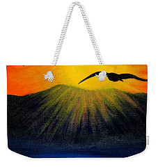 Sunrise And Two Seagulls Weekender Tote Bag