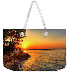 Sunrise Around The Bend Weekender Tote Bag